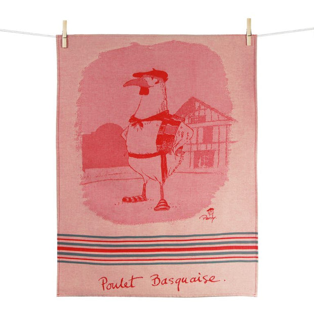 Kitchen Towel – Poulet Basquaise
