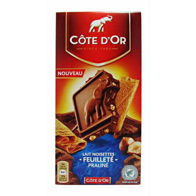 Cote d'Or Milk Chocolate Praline with Haezlnuts