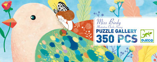 Puzzle Gallery Miss Birdy- Djeco