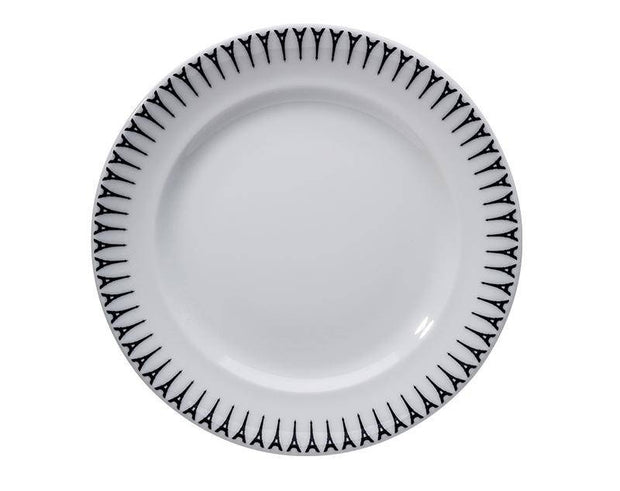"Ville de Paris, 10.5"" Plate, Set of 4"
