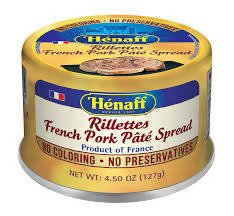 Henaff - Rillettes French Pork