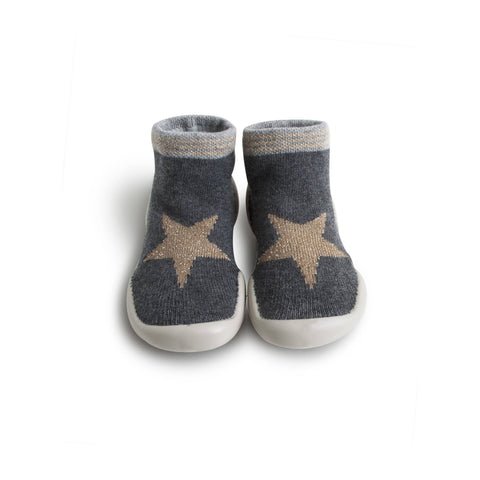Slippers Grey Star - Collegien
