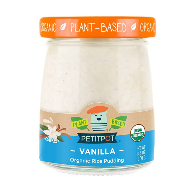 Set of 8 Plant-based Rice puddings : Vanilla