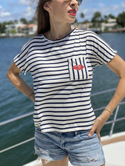 Bisou Bisou Nautical T-shirt