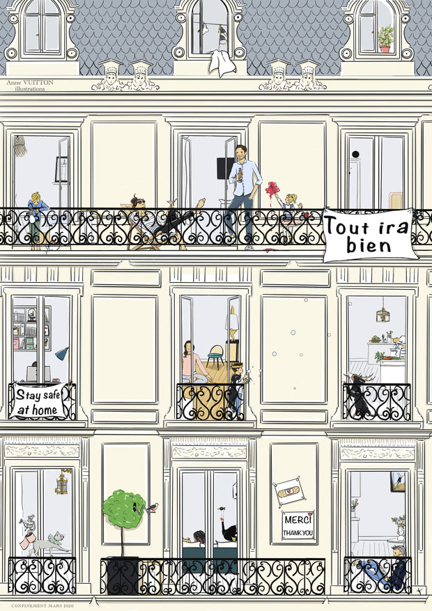 Stay in...Paris - ANNE VUITTON illustrations-