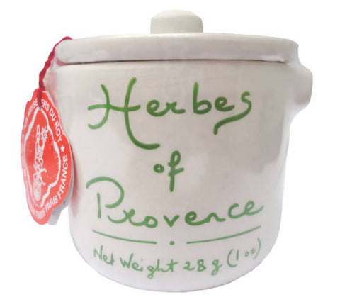 Herbs de Provence in Ceramic Jar 1oz (28g) - Aux Anysetiers Du Roy