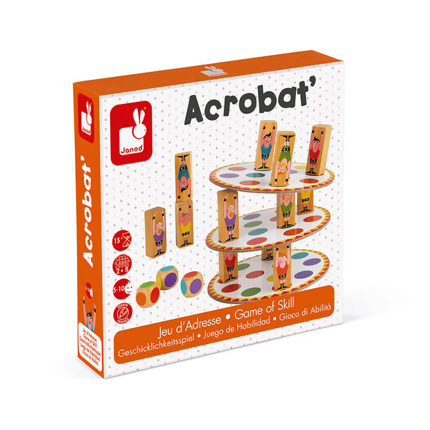 Acrobat game of skill - Janod