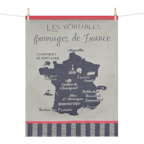 Kitchen Towel –  Fromages de France