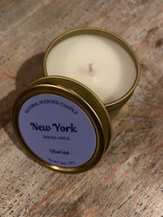 Mini Natural Candle - New York