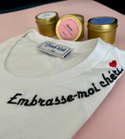 Embrasse-moi chéri - Woman T-Shirt by French Wink