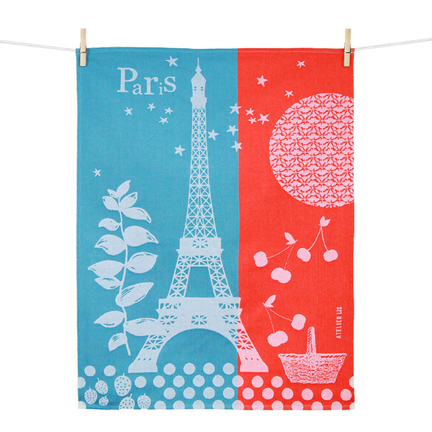 Kitchen Towel – Paris Cerises