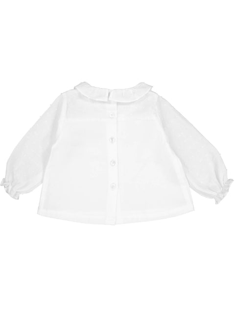Suzon Blouse - Chalk
