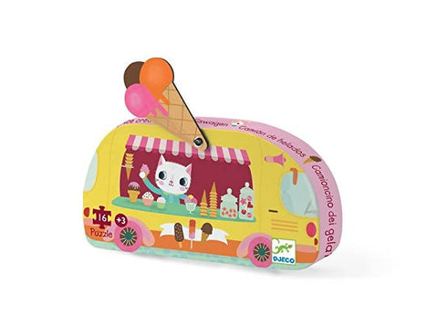 Puzzle Ice cream truck mini- Djeco