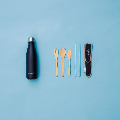 Reusable Bottle & Utensil Set - ZELO