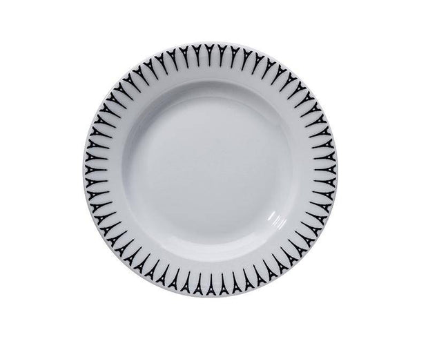 "Ville de Paris, 9"" Soup Plate, Set of 4"