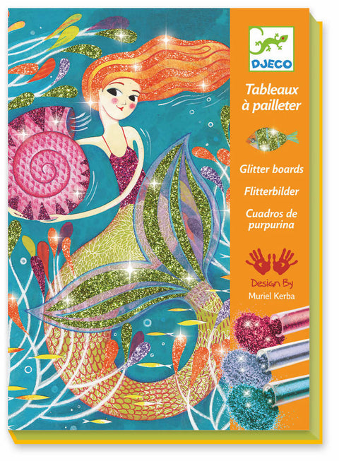 LGA glitter boards mermaids- Djeco