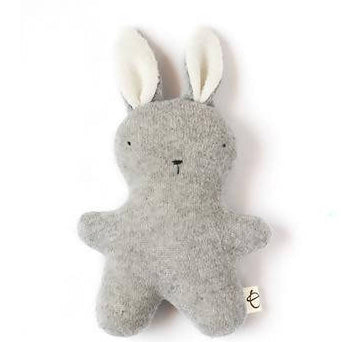 Little Grey Cashmere Bunny - Ouistitine