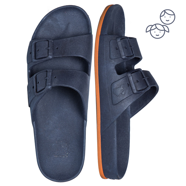 Sandals Brasilia Navy/Orange - Kids