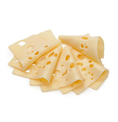 Sliced Emmental Cheese