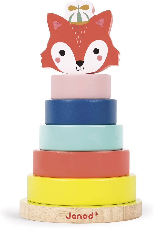 Baby forest fox stacker- JANOD