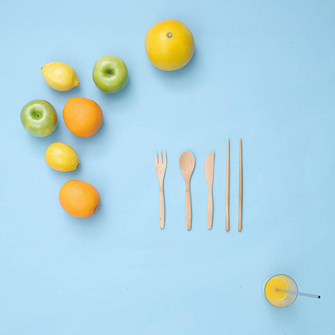 Metal straw & utensils bundle - ZELO