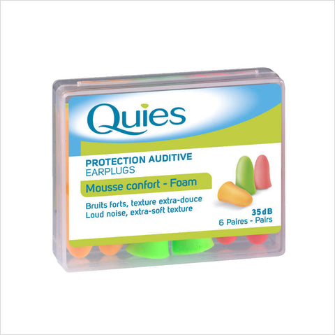 Foam Earplugs Fluo - Quies