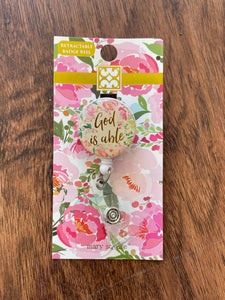 God Is Able- Badge Reel