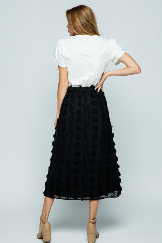 Hailey Textured Skirt