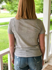 Ideal Tee - Eco Ivory Seaside Stripe - Simply Lynn's Boutique