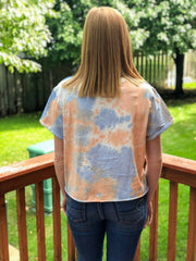 Just Peachy Tie Dye Tee