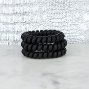 All Black Matte Hotline Hair Ties - Simply Lynn's Boutique