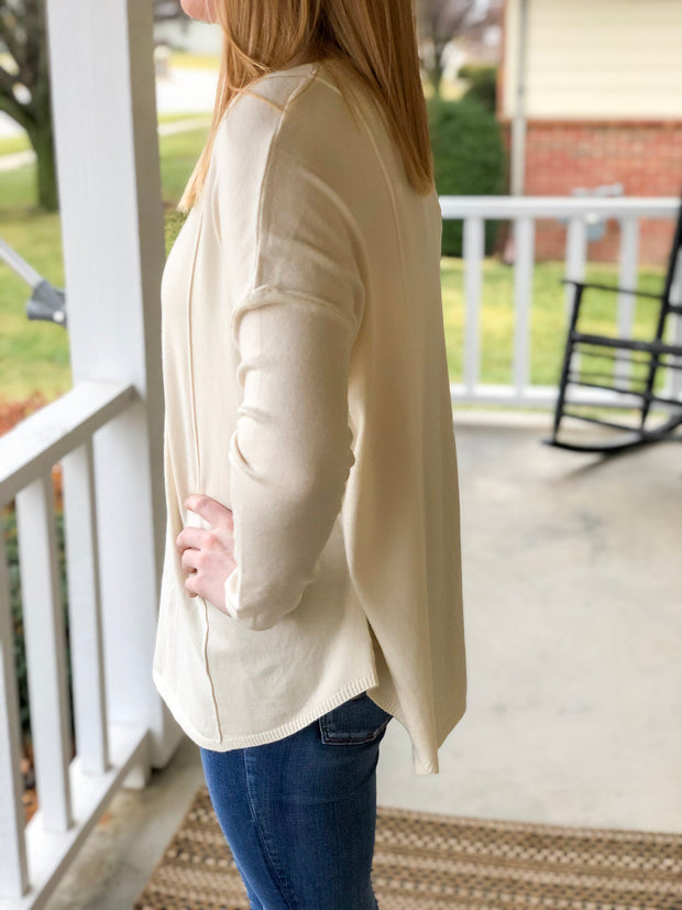Better Days Sweater - Ivory