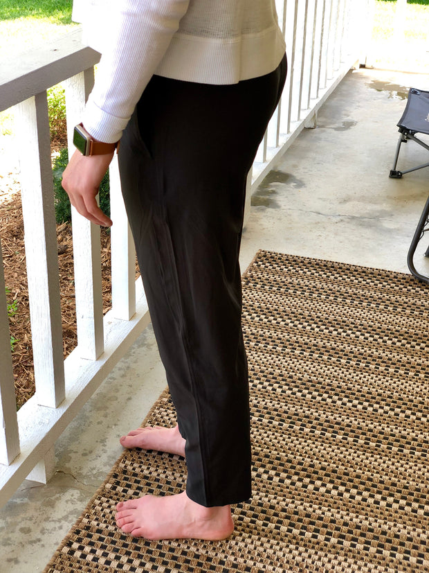 Relaxed Joggers - Black - Simply Lynn's Boutique