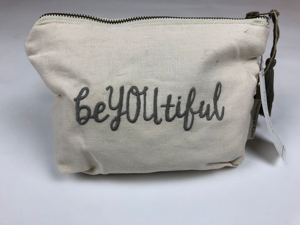 Be You Tiful Zipper Pouch - Simply Lynn's Boutique