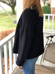Light Knit Cardi - Black