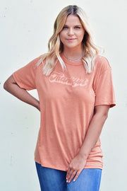 Thankful Tee - Orange
