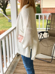 Sweet Dreams Cardigan - White