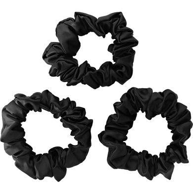 Beauty Silk Products 100% Mulberry Silk  Hair Elastics Scrunchies / TAIHU SNOW