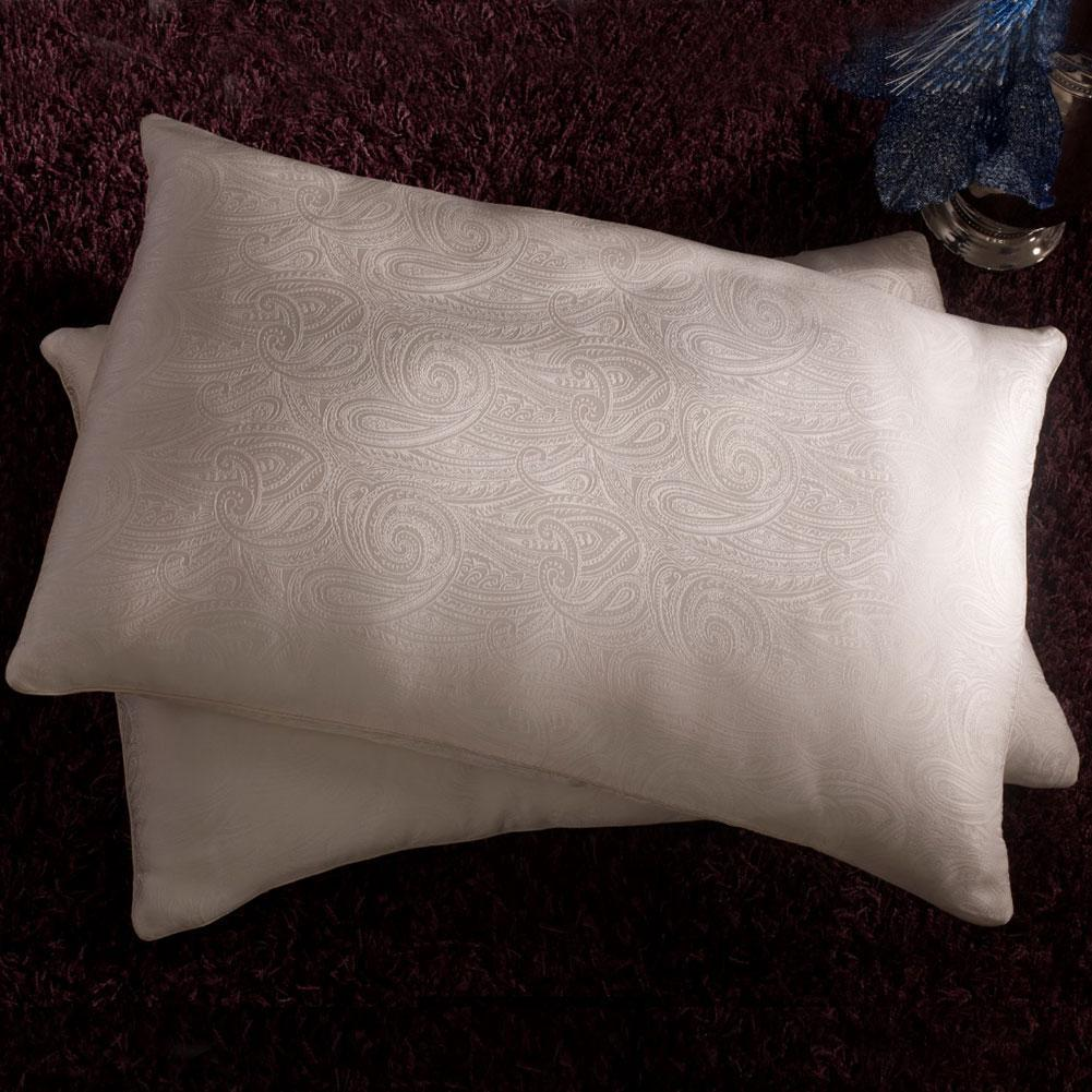 High end 15% Silk Filled Pillow | White Color| TAIHU SNOW