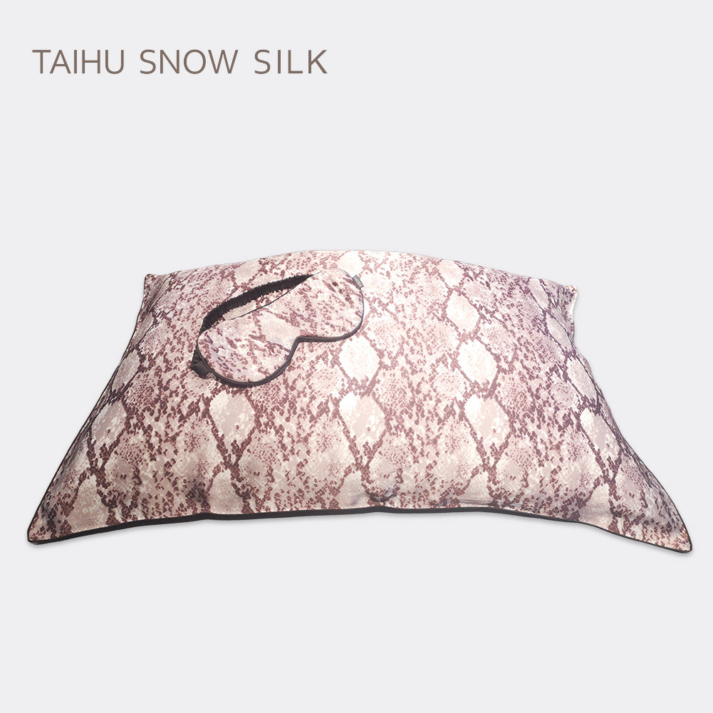 2020 New Arrival Snake Print Silk Pillowcase High Quality Elegant 100%Mulberry