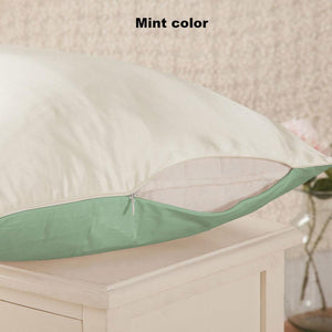 Mint color Mulberry silk pillowcase