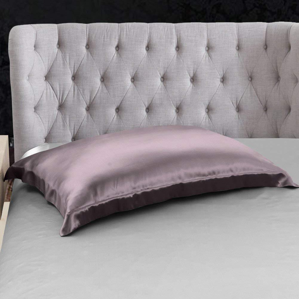 High end 19 Momme Mulberry Silk Sheets Bedding Sets Duvet Cover Set (4 Piece) | Purple