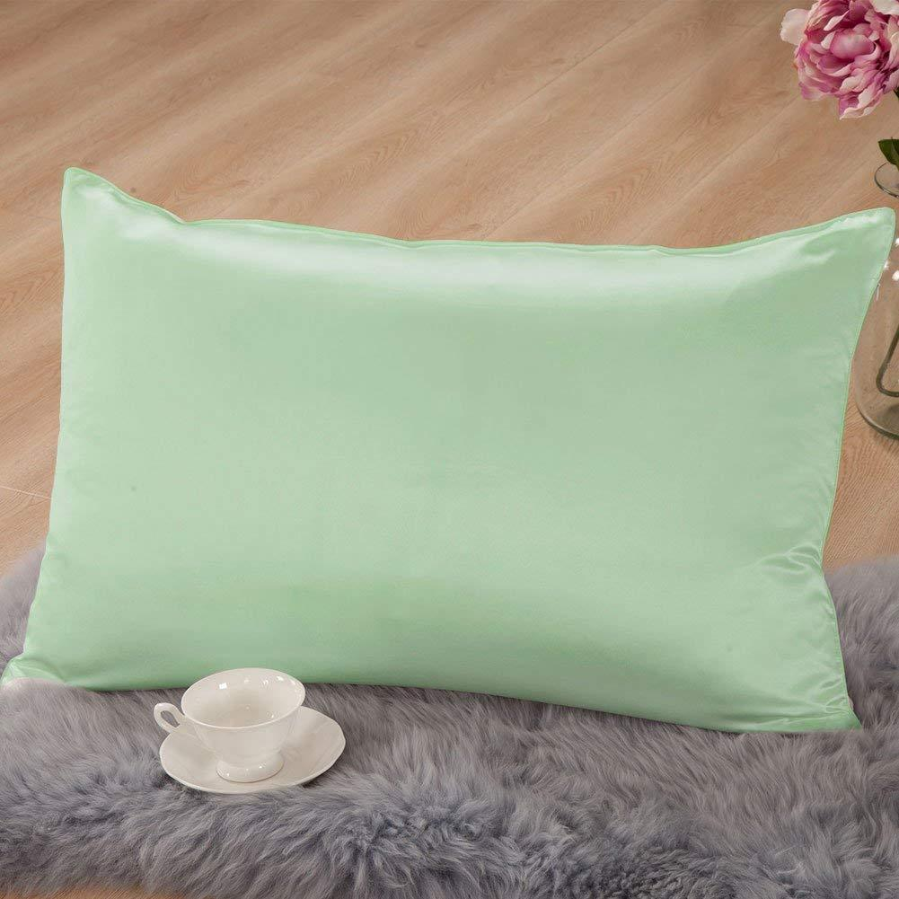Mulberry Silk Pillowcase with Cotton Underside | 16 Colors| TAIHU SNOW