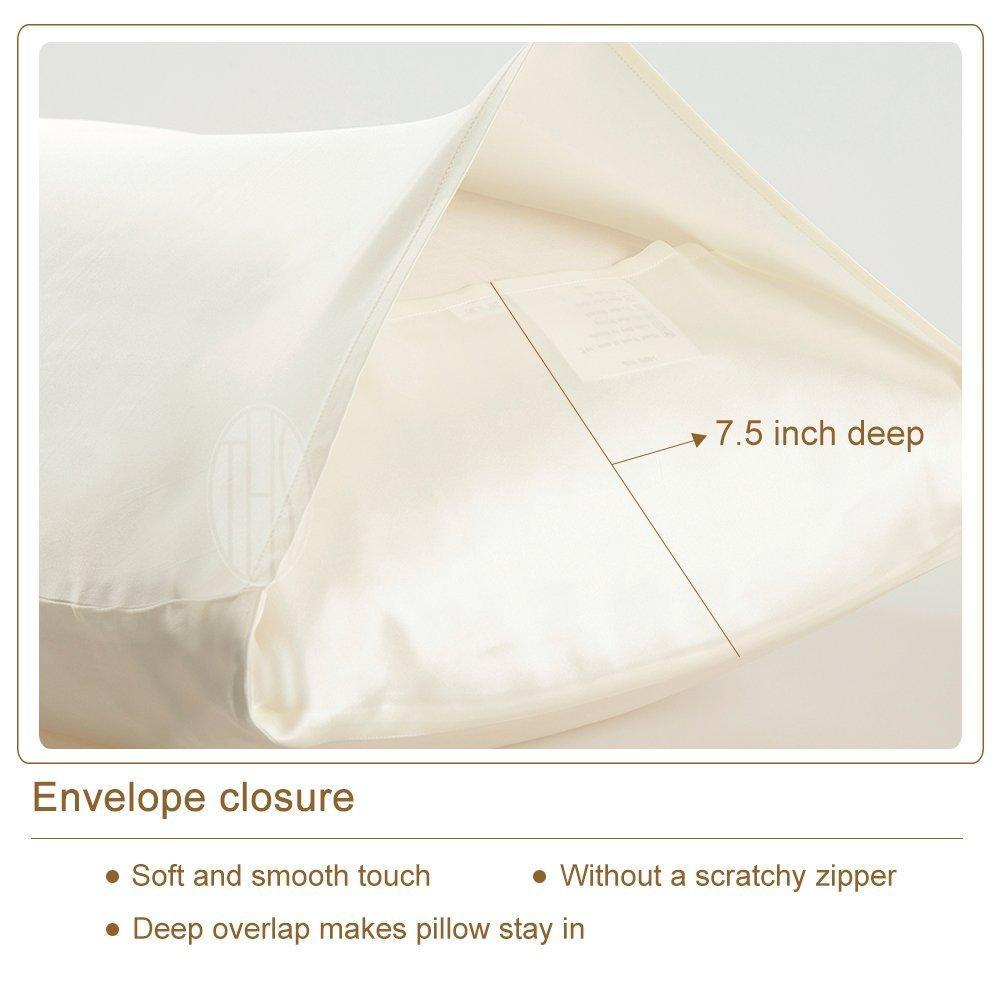 High end 19 Momme Mulberry Silk Pillowcase | Standard Size