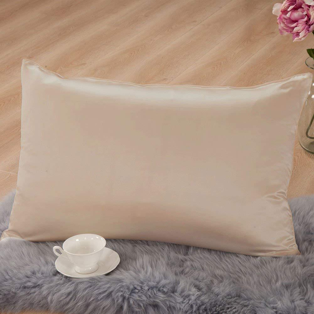 Mulberry Silk Pillowcase with Cotton Underside | King
