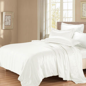Luxury 22 Momme Mulberry Silk Duvet Cover | Twin Size