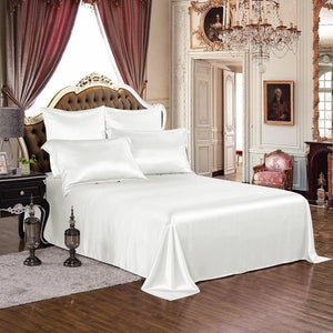 High end 19 Momme Mulberry Silk Sheets Set | 4pcs | 13 Colors