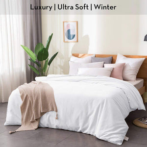 Luxury Ultra Soft | 100% Mulberry Silk Filled Silk Comforter | Winter