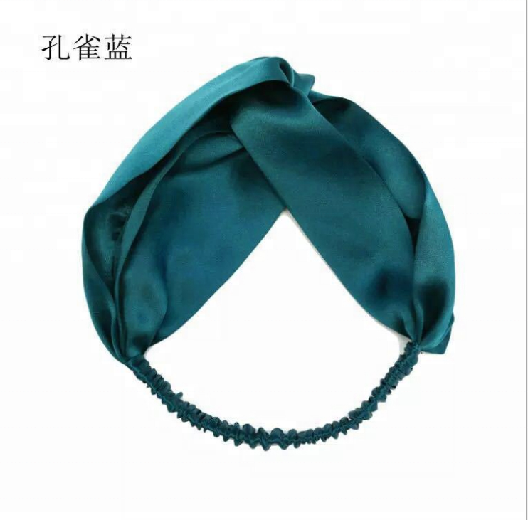 Beauty Silk Products  100%Mulberry Silk Hair Accessories Hair Band/TAIHU SNOW