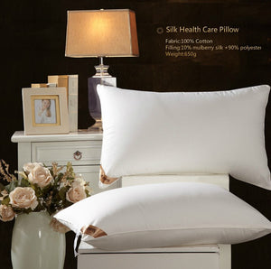 Basic Silk Filled Pillow Fluffy&Soft | White Color|TAIHU SNOW